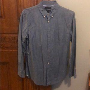Men's, denim button down shirt, Banana Republic